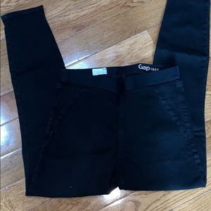 GAP Resolution Black Pull On Leggings